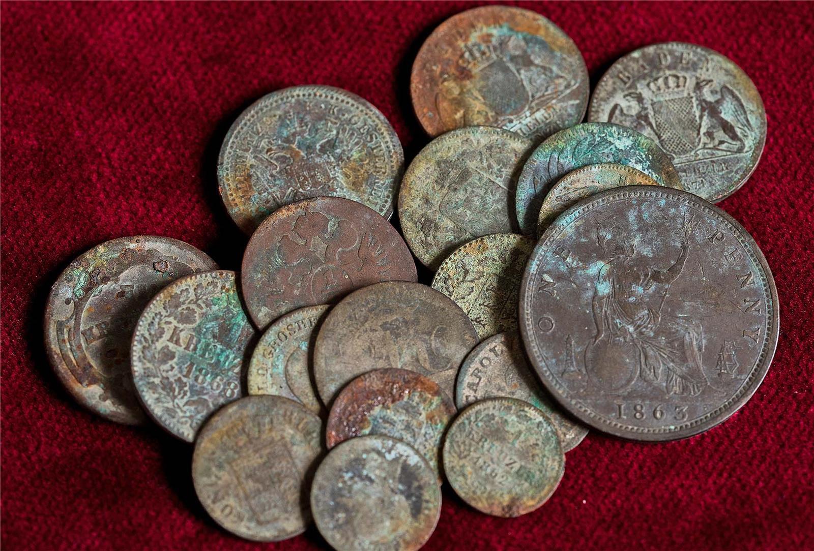 Das Geheimnis Der Alten Münzen