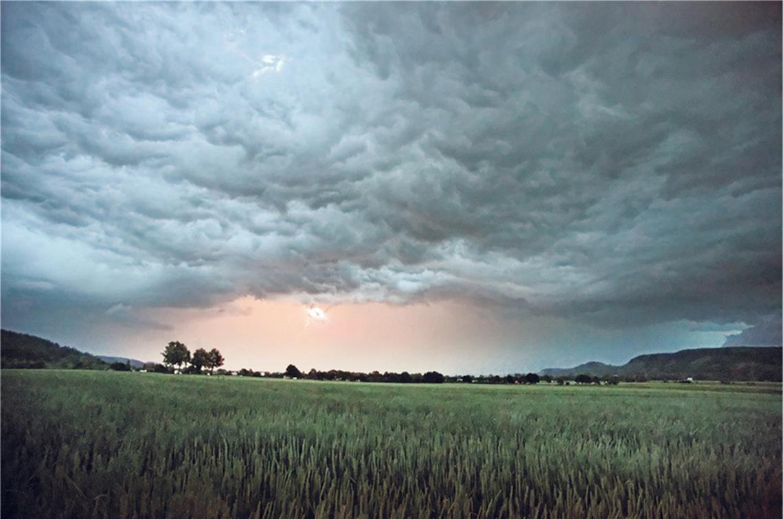 Unwetterwarnung Reutlingen