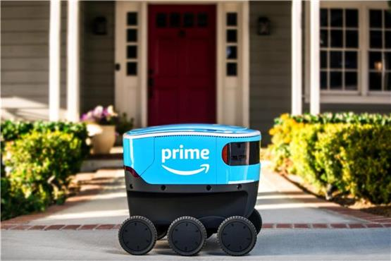 Live-Blog: Amazon testet in Tübingen Roboter-Software