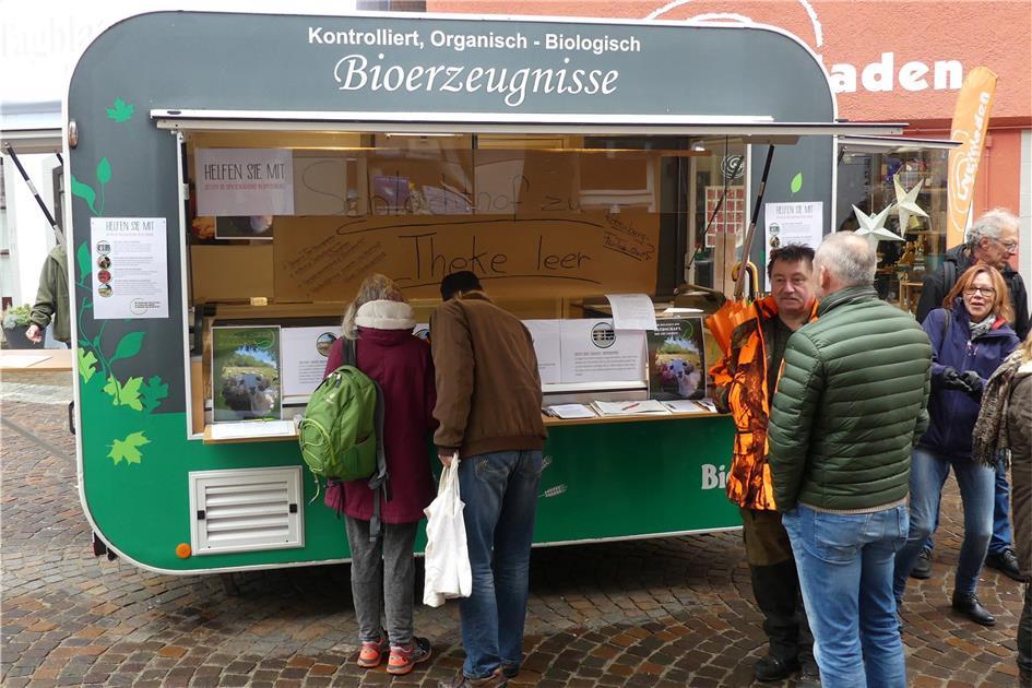 Schlachthof zu, Marktstand leer - Schwäbisches Tagblatt