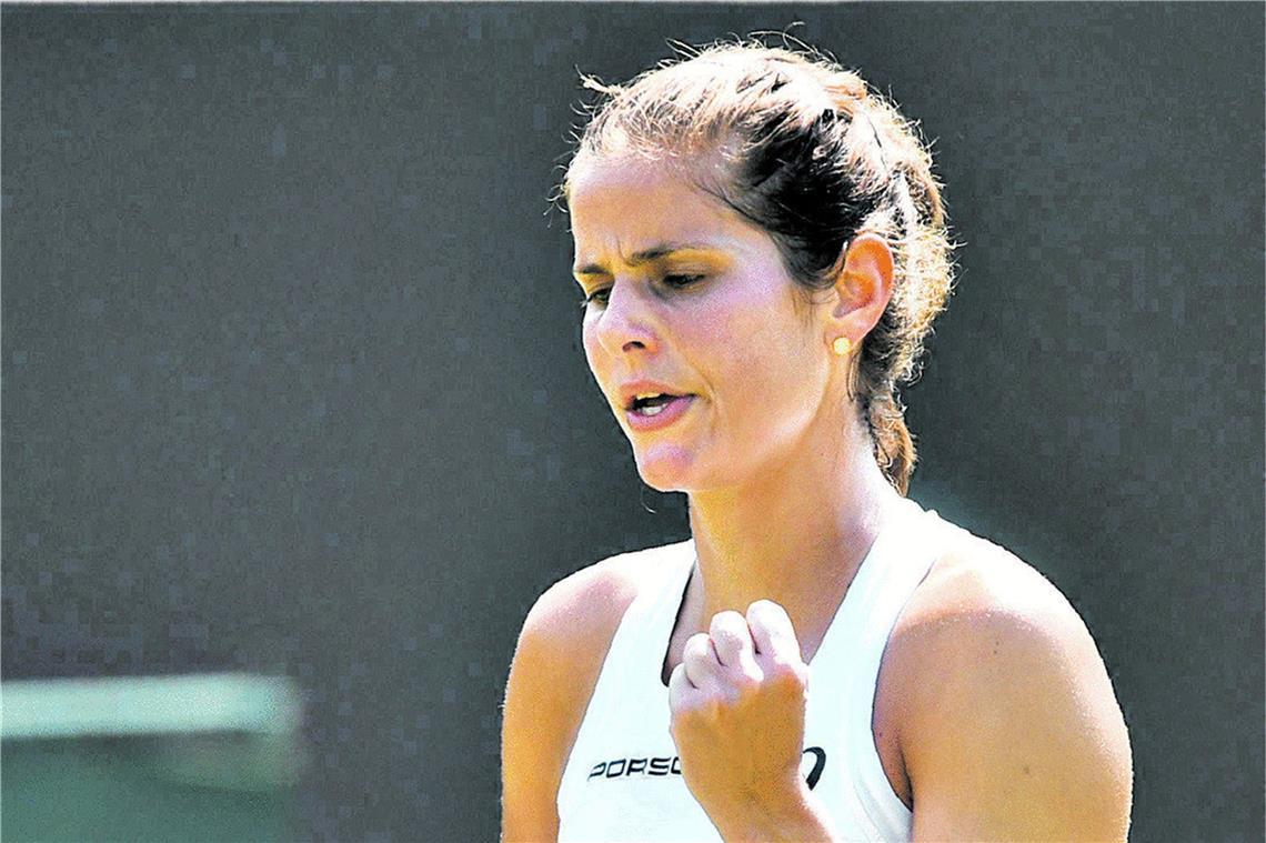 Tennis Kerber Und Gorges Im Halbfinale Von Wimbledon
