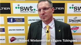 Nach der Niederlage: Tigers-Manager Wintermantel