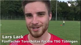 Interview mit Lars Lack nach dem Derbysieg