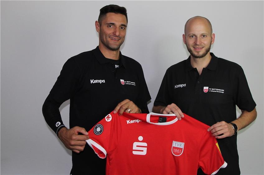 Volleyball-Bundesligist TV Rottenburg holt Idner Martins
